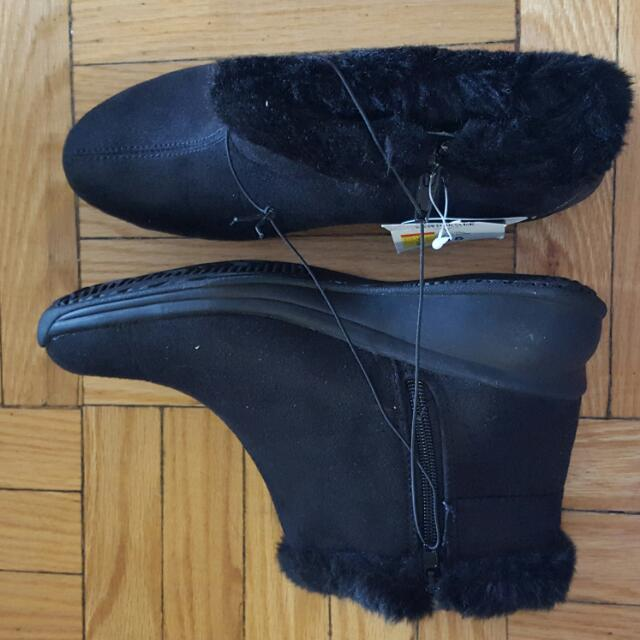 George Black Winter Boots Size 7 Brand New