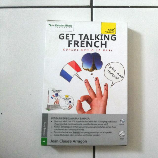 Get Talking French - Kursus Audio 10 Hari