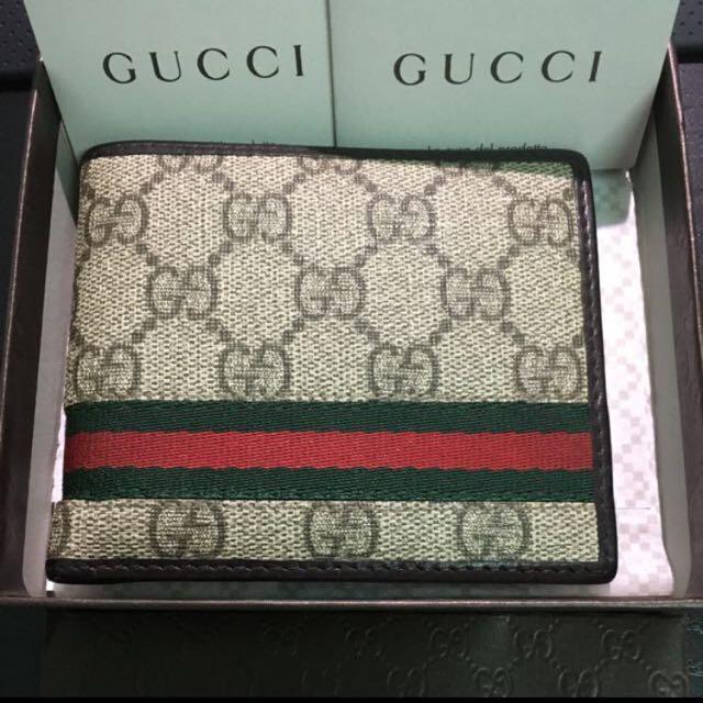 Gucci 皮夾 短夾