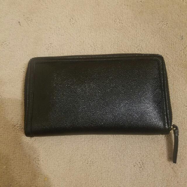 Halogen Black Wallet