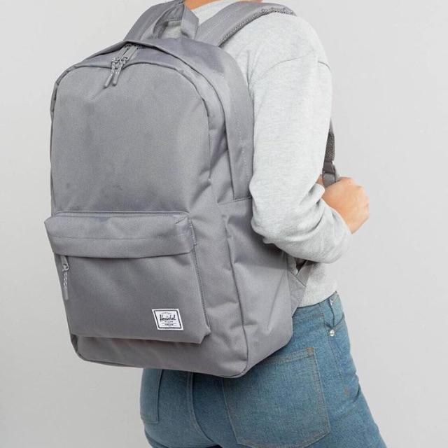 Herschel 基本 簡單 後背包 三色 灰色