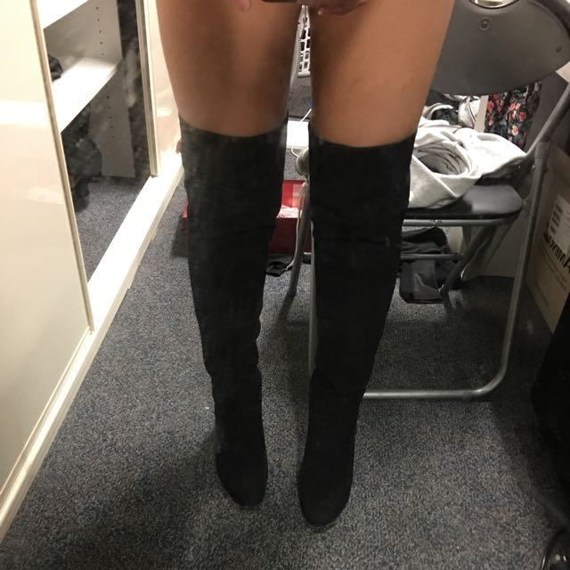 High Knee Boots Size 9
