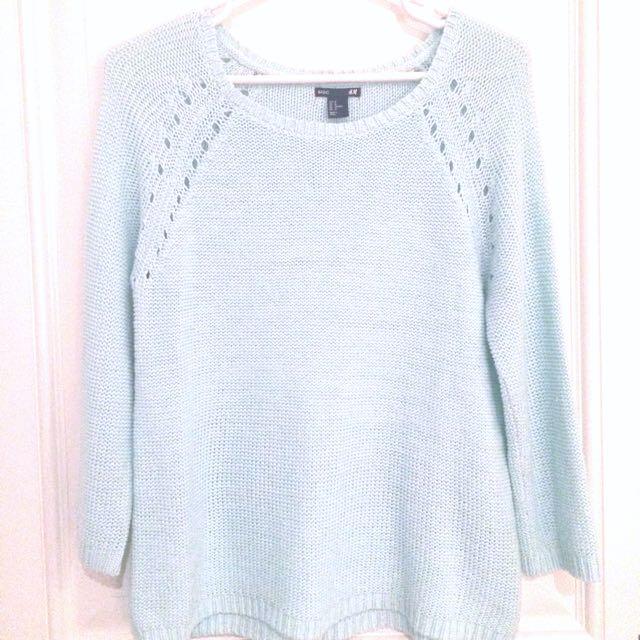 H&M Mint Green Knit