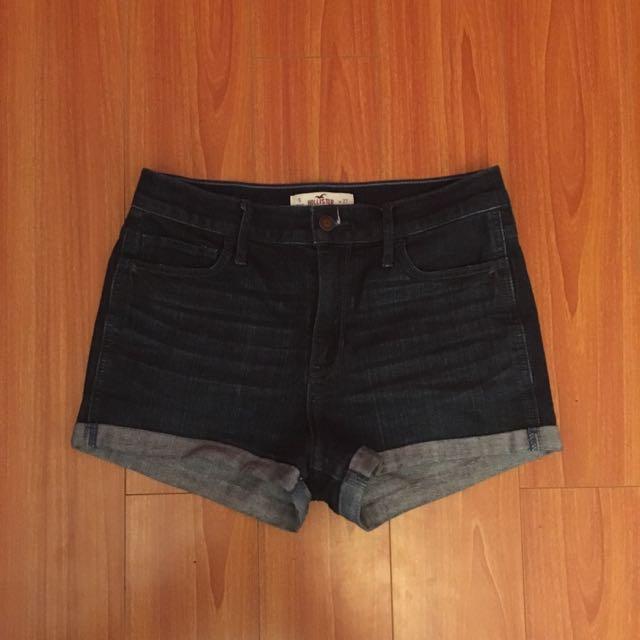 Hollister High Rise Retro Shorts (w27)