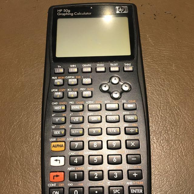 HP50g Calculator