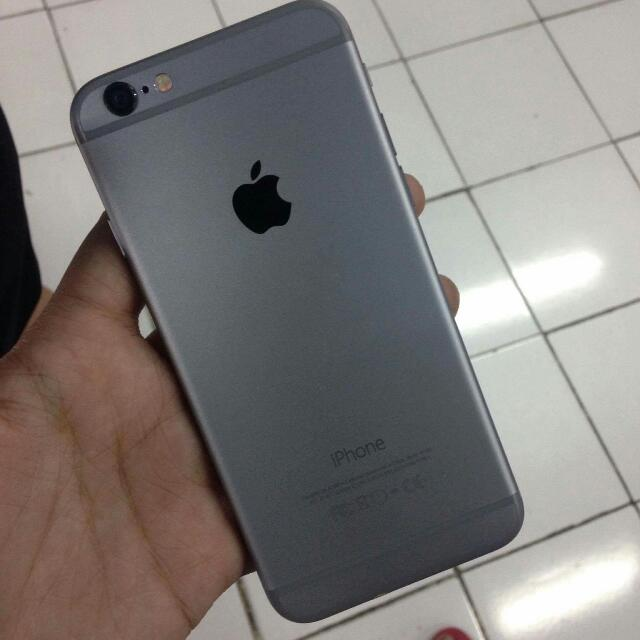 iPhone 6 Space Gray (16GB) GPP