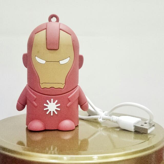 Iron Man Powerbank 8800mAh