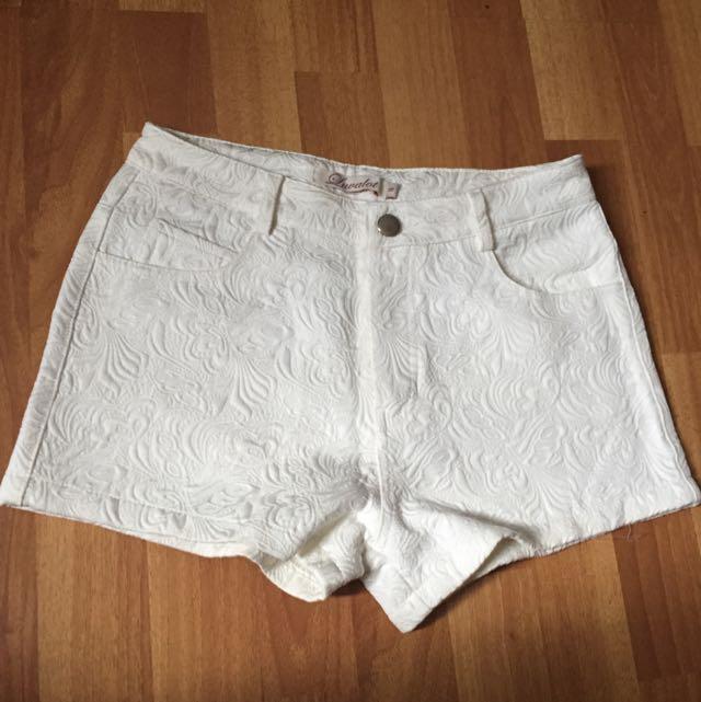 Ivory White Gorgeorge Short