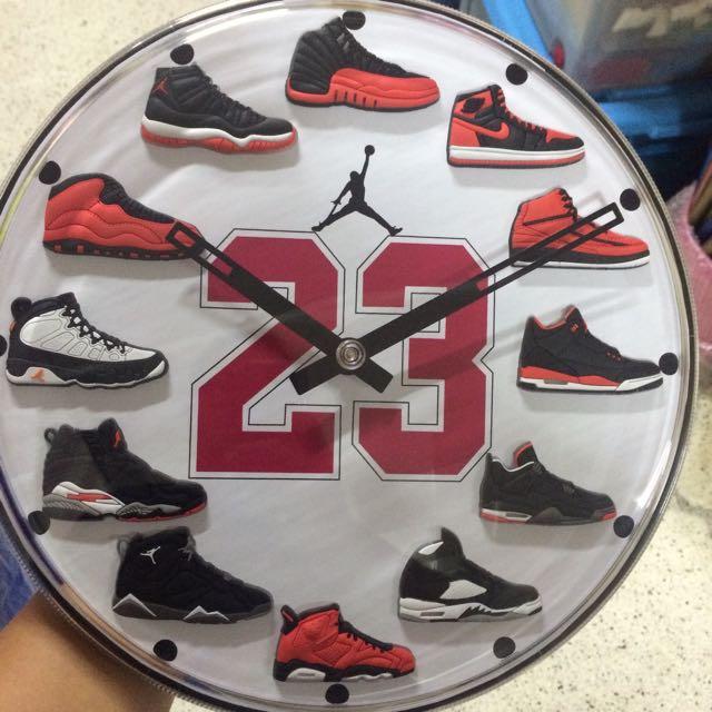 8235a8d86d41 Jordan Shoes Wall Clock