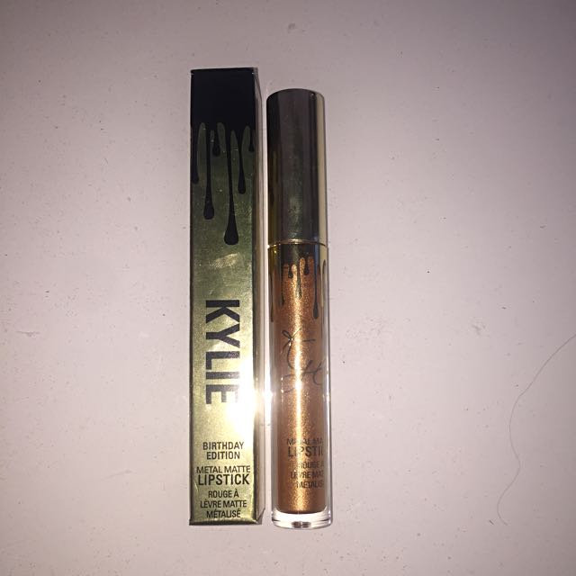 Authentic Kylie Cosmetics Metal Matte