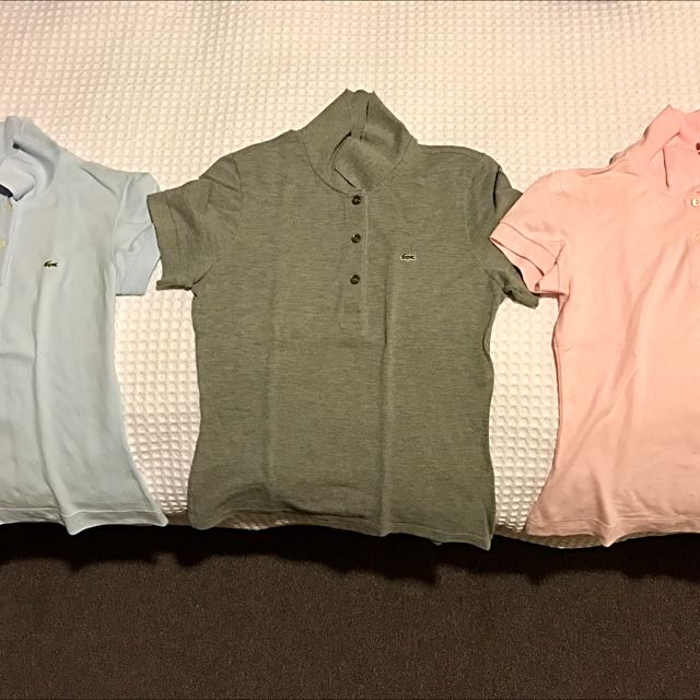 Lacoste Shirts X3