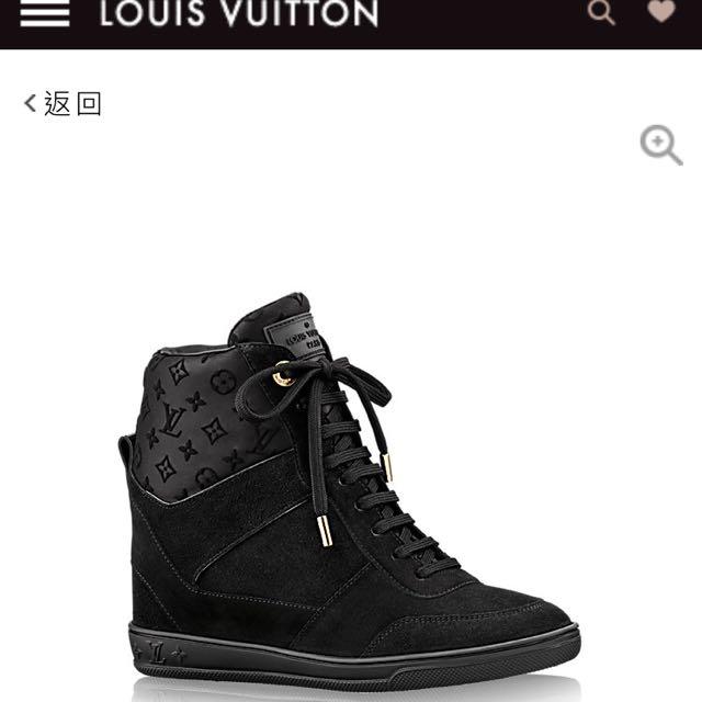 Louis Vuitton 內增高休閒鞋