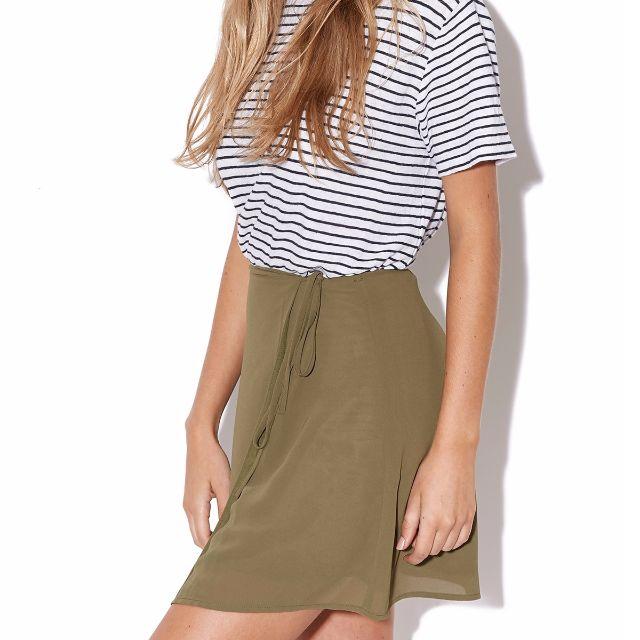 Luck & Trouble Ballet Skirt Khaki