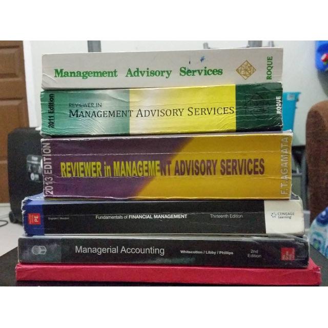 Management Advisory Services (MAS)