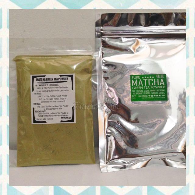 Matcha Green Tea Powder (Less If 3 Or More)