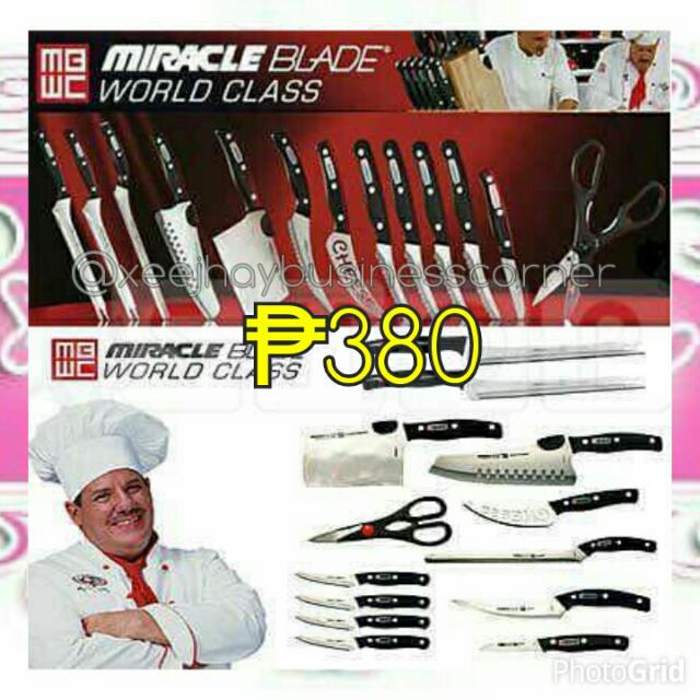 Miracle Blade Knife Set