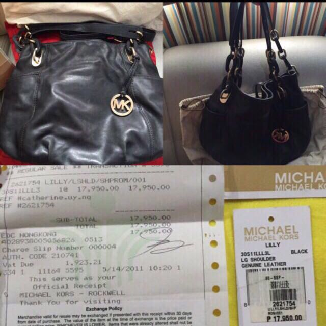 4f8634be4b Mk Leather Bag, Women's Fashion, Bags & Wallets on Carousell