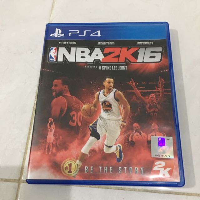 NBA 2k16 playstation 4