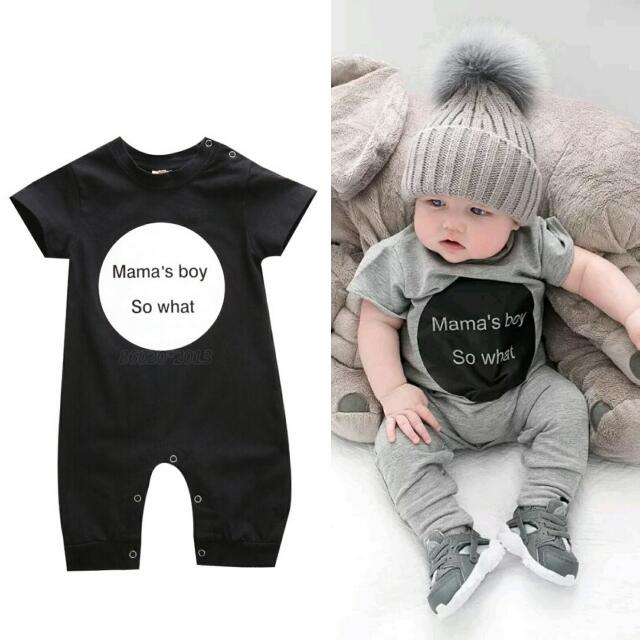 New black Baby Kids Romper