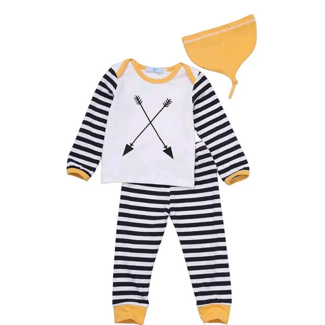 New Unisex 3piece Kids Baby Outfit