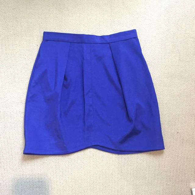 Pilgrim Electric Blue Skirt