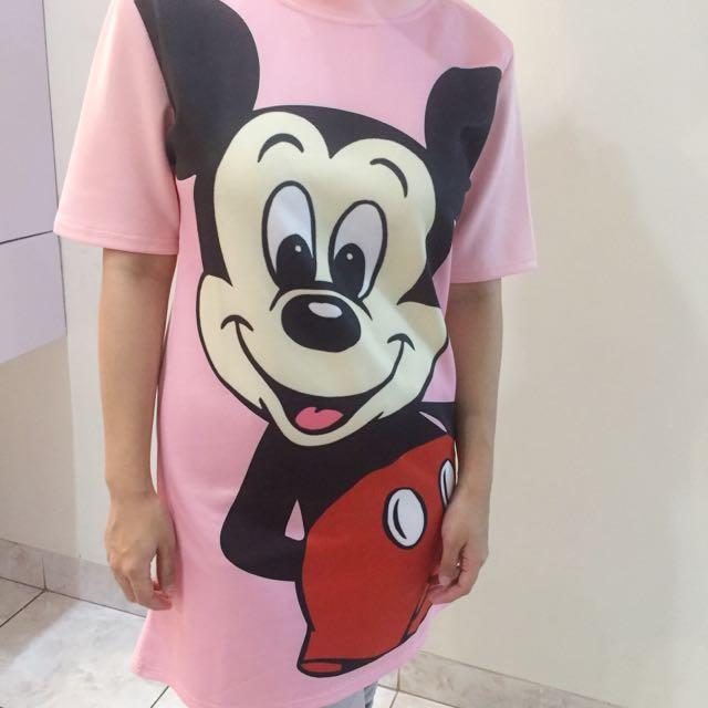 Pink Mickey Shirt