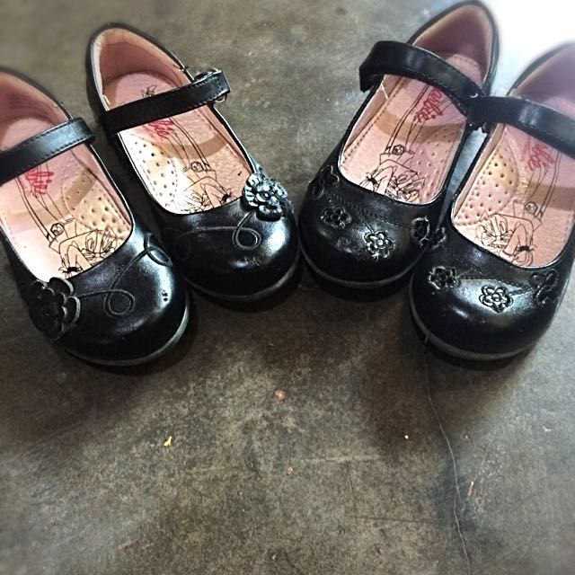(On Hold) Pre Loved Barbie School Shoes! 300/each