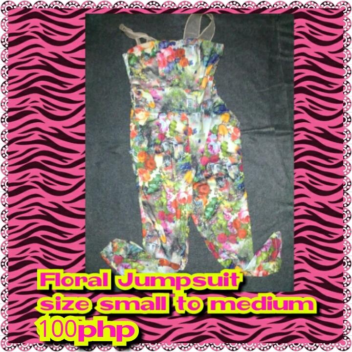 Preloved Jumpsuit (RE-PRICED)
