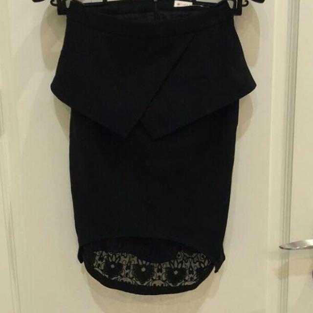 Rok kantor / Formal Black Skirt
