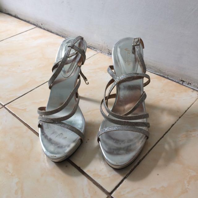 Silver Heels Victoria London