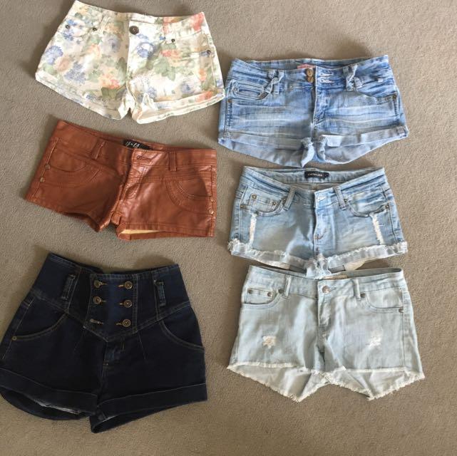 Size 6/8 Shorts Bundle