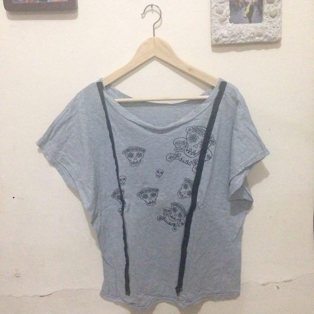 Skull Grey Shirt