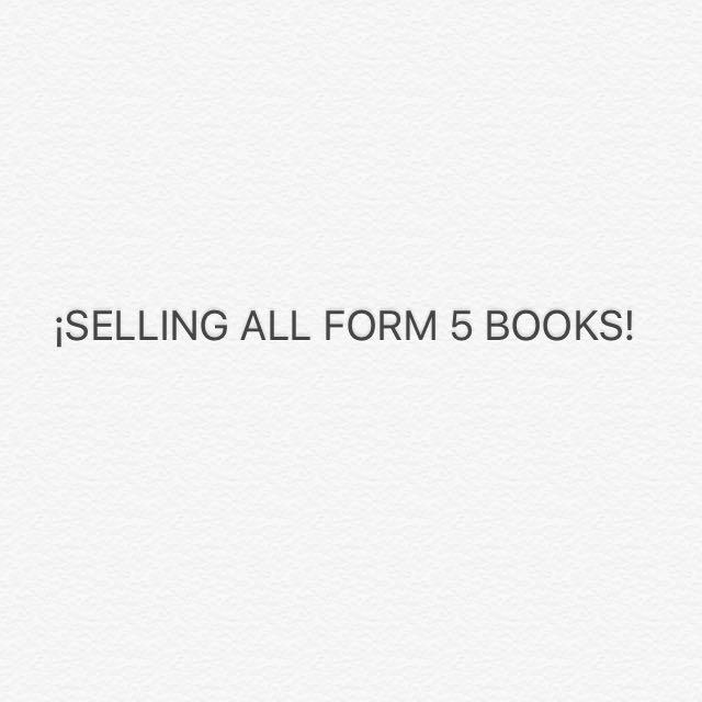 SPM SYLLABUS BOOKS FORM 4/FORM 5