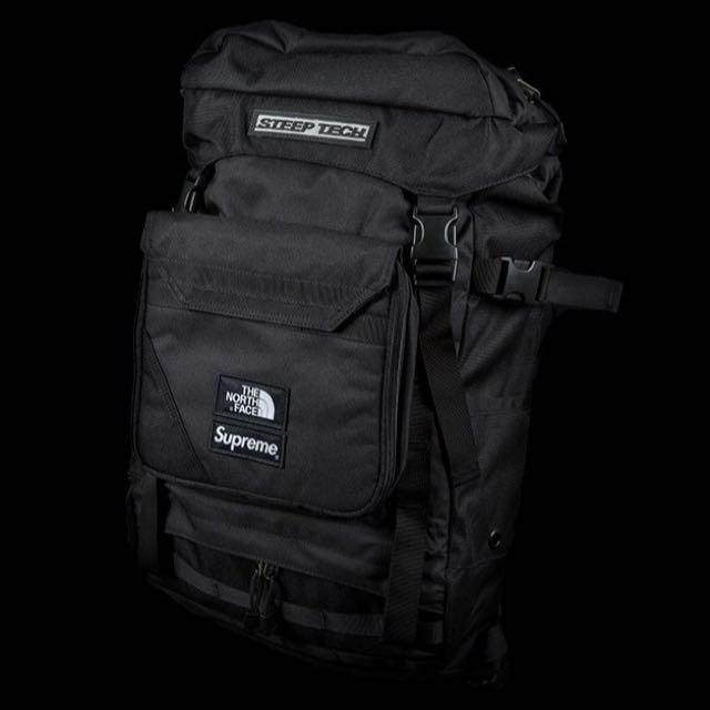 2137eddb8 Supreme x The North Face Steep Tech Backpack, Men's Fashion, Bags ...