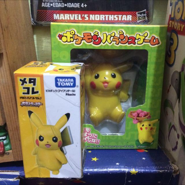 有蝦皮 takara tomy 正版 神奇寶貝 寶可夢 皮卡丘 tomy 桌遊 合金 出清 娃娃