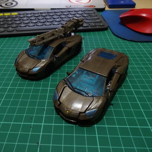 Transformers AOE Lockdown Loose Complete
