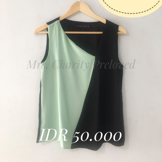 Two Tone Top From Berrybenka