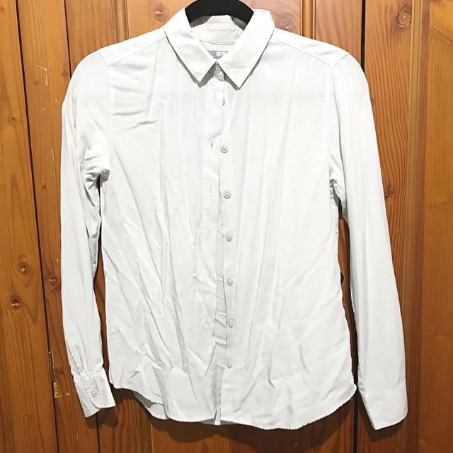 Uniqlo Shirt Grey