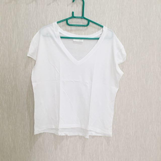 V-Neck Top Zara
