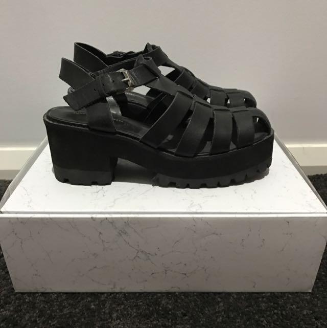 Windsor Smith Platform Sandals Size 6.5