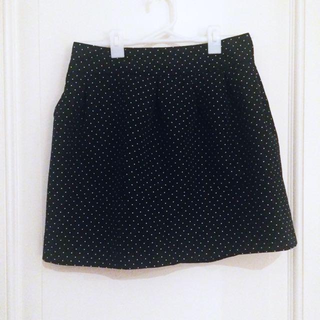 ZARA Polka Dot Skirt