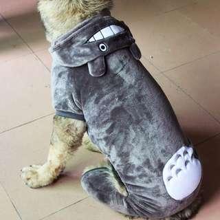 DP雜貨鋪 大型犬寵物變身裝龍貓四腳衣 貓狗衣服 黃金獵犬/牧羊犬/拉布拉多