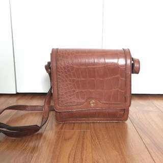 Structured box purse satchel swingbag