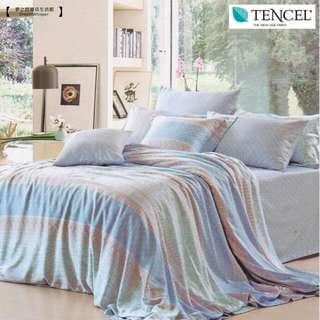天絲床罩4件組