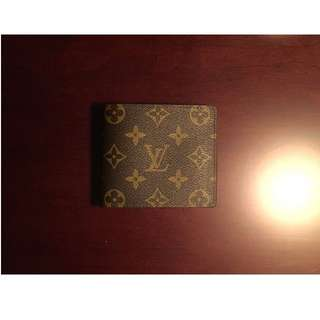 Louis Vuitton Monogram Men's Trifold Wallet