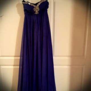 Prom Dress. Worn Once. Paid $275.00