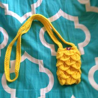 Crochet Phone Case With Strap