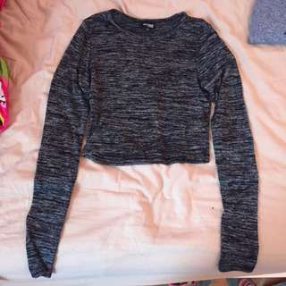 Wilfred Long Sleeve Crop Top