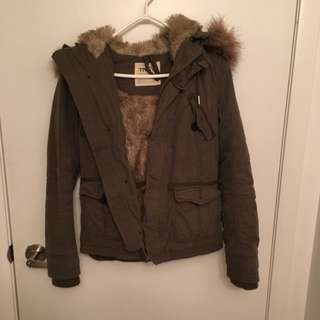 TNA FUR WINTER JACKET