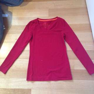 Long Sleeved Red Shirt